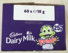 Cadbury Chocolate Dairy Milk Freddo Box of 60 x 18g Bars Perfect for Party Bags