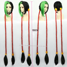 League of Legends Loose Cannon Jinx Long Costume Cosplay Wig 150cm S08
