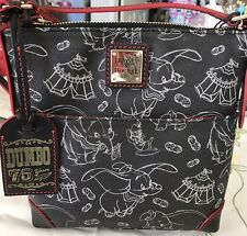 NWT Disney Dooney & And Bourke Dumbo 75th Anniversary Letter Carrier Bag Purse