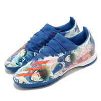 adidas X Ghosted.3 TF Turf Captain Tsubasa Glow Blue Men Soccer Shoes FW5835