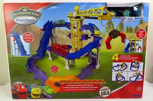 Chuggington StackTrack Brewster's Big Build Adventure Set New Damaged Box
