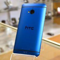 HTC One M7 - 32GB -  Blue (Unlocked) Smartphone
