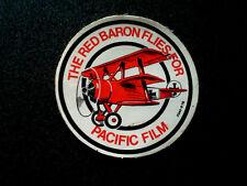 RED BARON PACIFIC FILM STICKER AUSTRALIA ADVERTISING