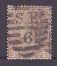 Sg160 4d Grey Brown Og Plate 18 Cat £65