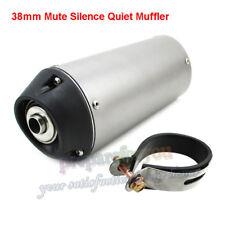 38mm Mute Silence Quiet Exhaust Muffler For 125 140 150 160cc ATV Pit Dirt Bike