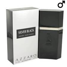 Parfum AZZARO SILVER BLACK EDT 100ml Neuf et Sous Blister