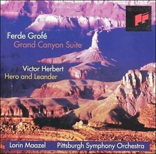 GRAND CANYON SUITE HERO & LEANDER GROFE HERBERT MAAZEL PITTSBURGH CD NEW AUS EXP