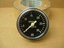 "1960s STEWART WARNER 2 5/8"" VACUUM GAUGE 355B-M8 AMC CHEVY FORD MOPAR STREET ROD"