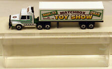 DTE 2012 HERSHEY MATCHBOX TOY SHOW WHITE DAF CONVOY TRACTOR TRAILER TRUCK