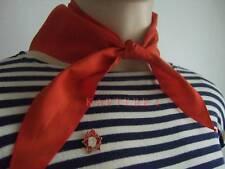 Original ☭ UdSSR CCCP PIONIERHALSTUCH + ABZEICHEN  пионерский галстук + значoк