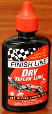 Finish Line DRY Teflon Plus Bicycle Chain Lube 2oz Drip Squeeze Bottle