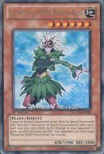 Yu-Gi-Oh ! Carte Elemental HERO Poison Rose LCGX-EN036 - Rare
