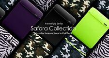 New iPad 3 & 2 More-thing Safara Collection Case Smart Cover | Black/Camo