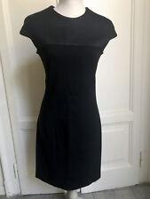 Vestito elasticizzato nero PINKO stretch black dress IT44 EU40 UK12