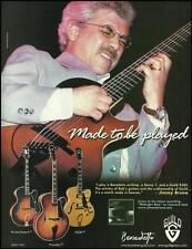 Jimmy Bruno 2001 Guild Benedetto Benny 7 X500 guitar ad 8 x 11 advertisement