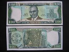 LIBERIA  100 Dollars 2011  (P30f)  UNC