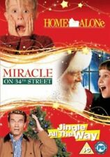 Home Alone Miracle on 34th Street Jingle All The Way DVD Region 2