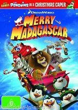 Merry Madagascar DVD CHRISTMAS MOVIES NEW RELEASE BRAND NEW R4