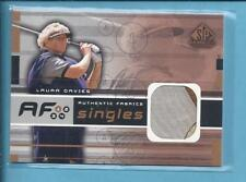 *2003 SP game used edition Golf Fabrics LAURR DAVES no.AF-DR