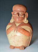 Pre ColumbiaN MOCHE nave antica SUD AMERICA