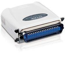 TP-LINK - New Single Parallel Port Fast Ethernet 10/100 Print Server - TL-PS110P