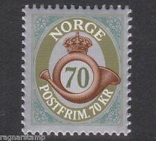 2014 NORWAY POSTHORN  70 kroner  NK 1891  MNH