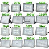 10W 20W 30W 50W 100W 150W 250W LED Flood Light Outdoor Lamp Warm Cool White 110V