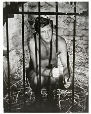Ron Ely 8x10 original Tarzan tv series photo sitting in jail