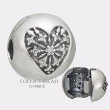 Authentic Pandora Silver Heart of Winter CZ Clip 796388CZ *WINTER 2017