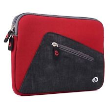 """Neoprene Sleeve Cover Case for 8.5""""-9.5"""" Tablets with Accessory Storage Pocket"""