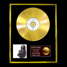SADE LOVE DELUXE CD GOLD DISC RECORD DISPLAY FREE P&P!