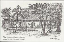 SOLOMON ISLANDS 1982 CHRISTMAS CARD MUSEUM (ID:239/D7549)