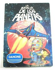 1970s Danone BATTLE OF PLANETS SPANISH ALBUM 100% complete vintage all 94 cards
