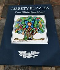LIBERTY Wooden Jigsaw Puzzle TREE OF LIFE by Sue Coccia