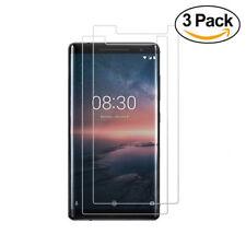 Nokia 8 Sirocco - 3x Displayfolie Panzerglas Schutzglas Panzerfolie 9H Folie ...