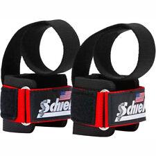 Schiek Sports Model 1000-PLS Deluxe Power Lifting Straps - Red