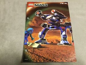 LEGO Space Life on Mars 7313 Instructions  Red Planet Protector
