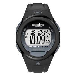 Timex Ironman T5K608, 10 Lap Sports Watch with, Indiglo Night Light