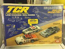 1980 Ideal TCR Total Control Racing Jam Car Grand Prix Lane Changing Race Set