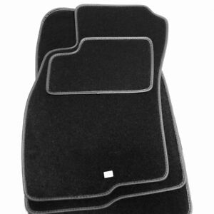 Velours Fußmatten passend für Fiat Grande Punto Bj. 2005-2009