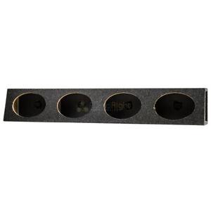 "6x9"" Speaker Box Enclosure 4 Four Hole High Quality MDF and Carpet Construction"