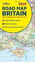 2019 Collins Map of Britain Collins Maps