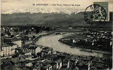 CPA Grenoble - L'Ile Verte (273095)