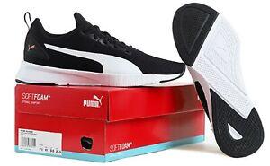 PUMA Men FLYER Runner Shoes Running Black Training Sneakers Boot Shoe 19225714