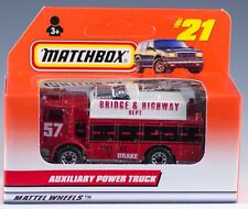 Matchbox MB 21 International Auxiliary Power Truck Red 1998 NEW in Box