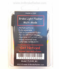 Formula 1 Brake light flasher strober. Multiple Modes!