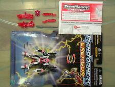 Transformers 2003 Energon Arcee 100% Complt w/Instrtuct//Backer Card C-6 Hasbro!