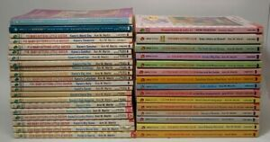 The Baby Sitters Club Series Lot of 39 Books Large Set Vintage