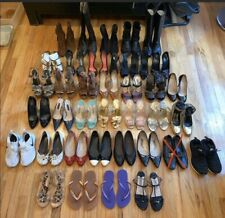 Lot Of 36 Pairs Of Shoes - Sandals, Flats, Heels And Boots