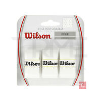 Wilson Pro Perforated Overgrip (Pack of 3) - White